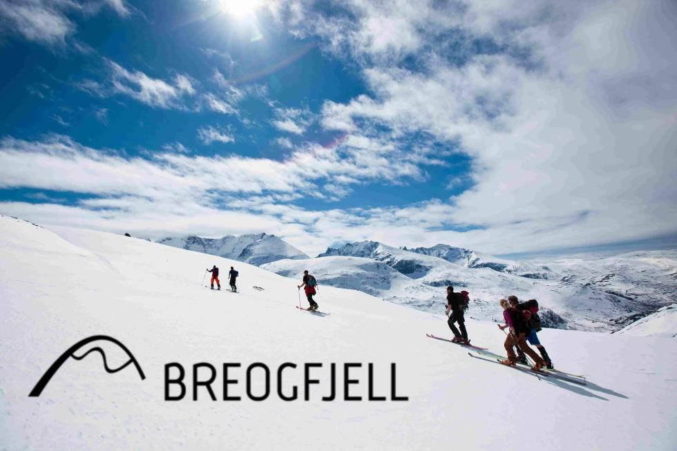 Breogfjell står for all kurs og føring under High Camp