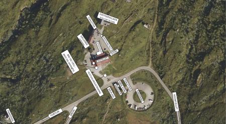 Festivalområdet på Turtagrø